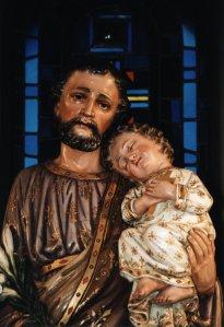 Joseph and the Child Jesus